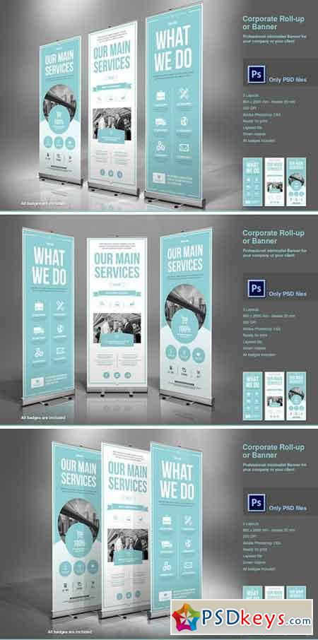Business Roll-Up Banner 2277512