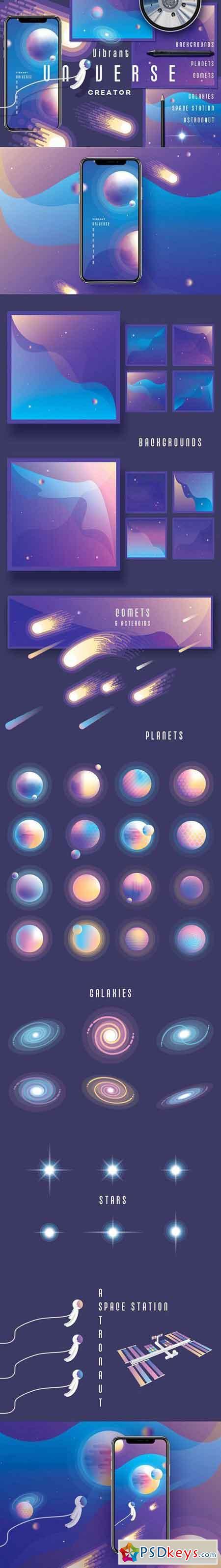 Vibrant Universe Creator 2247330