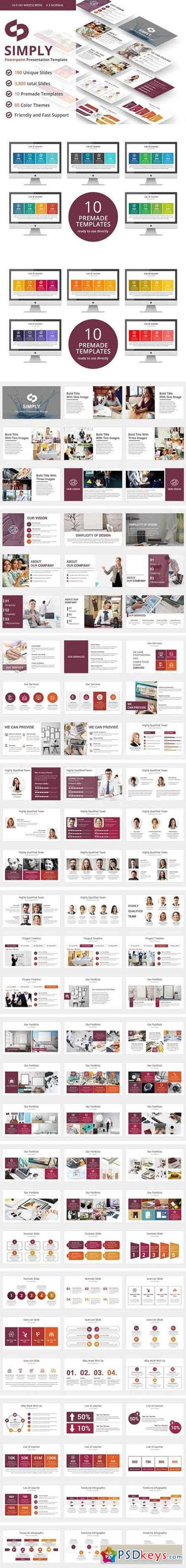Simply PowerPoint Template 2278879