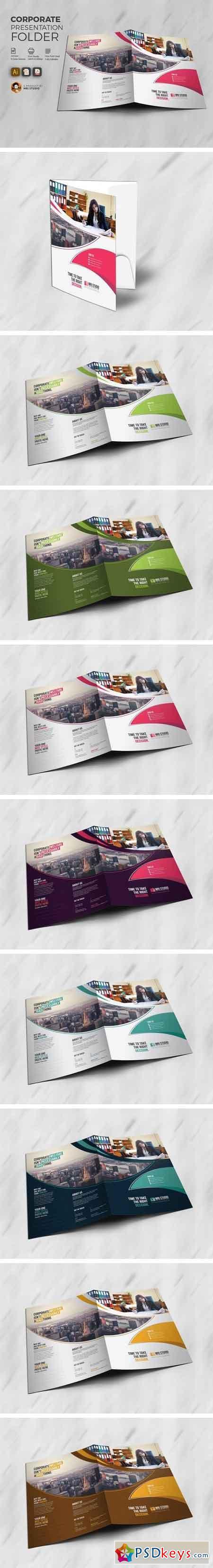 Creative Presentation Folder 1541962