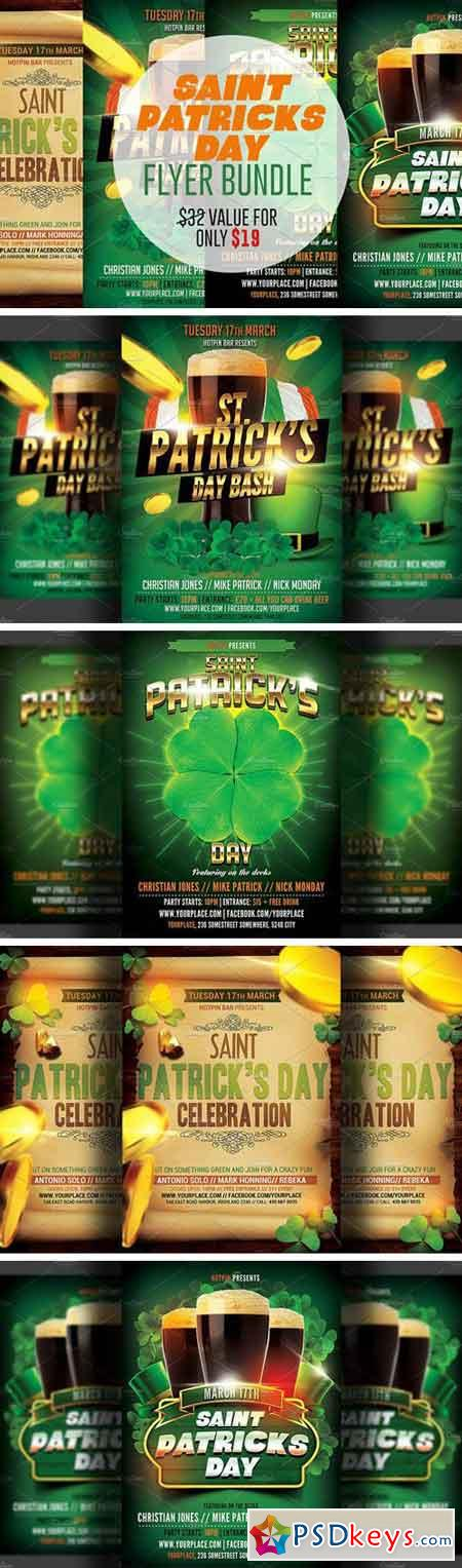 St. Patricks Flyer Bundle 229964