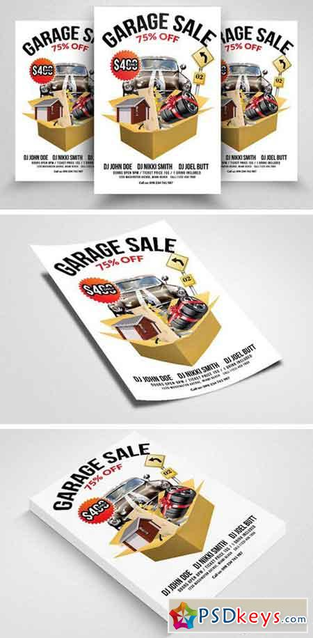 Yard For Sale Print Template Flyer 2300240