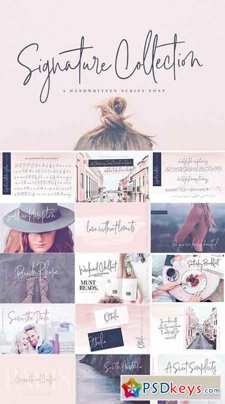 Signature Collection Script Font 2226871