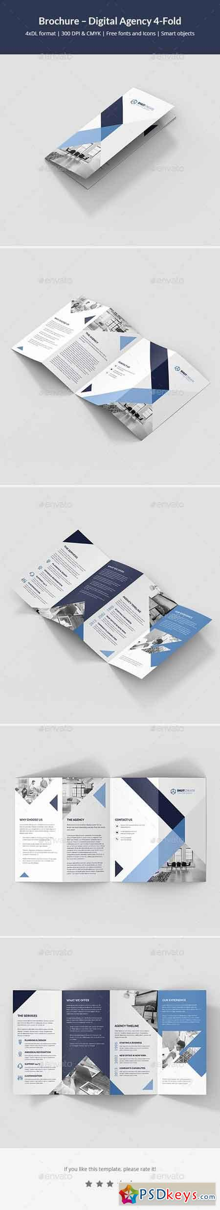 Brochure – Digital Agency 4-Fold 21486646