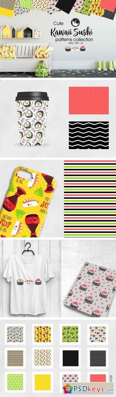 KAWAII SUSHI Pattern collection 2030105