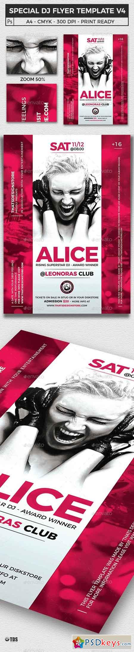 Special Dj Flyer Template V4 16594231