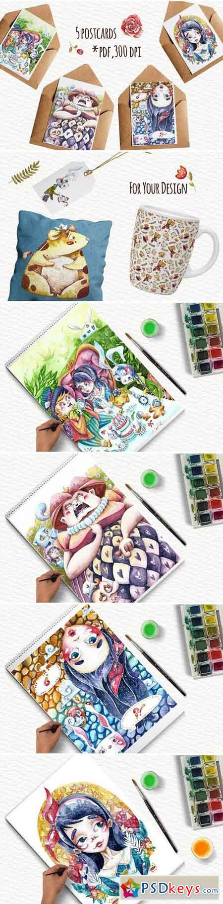 Watercolor Wonderland 1926240