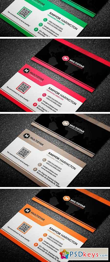 Corporate Brown Black Business Card 2272125