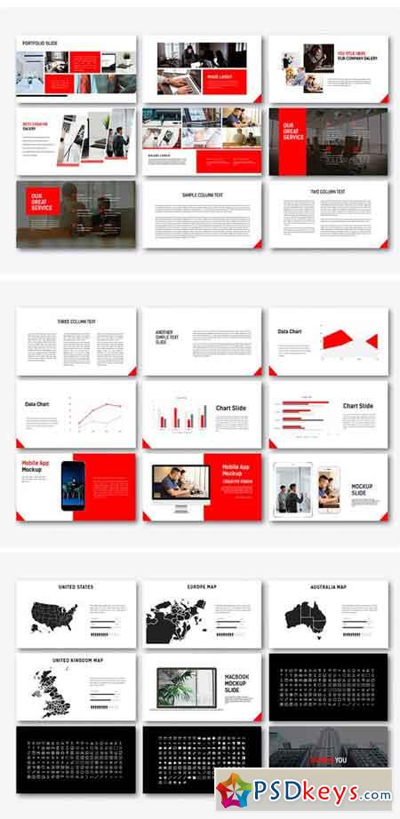 Redline Powerpoint Template 2269440