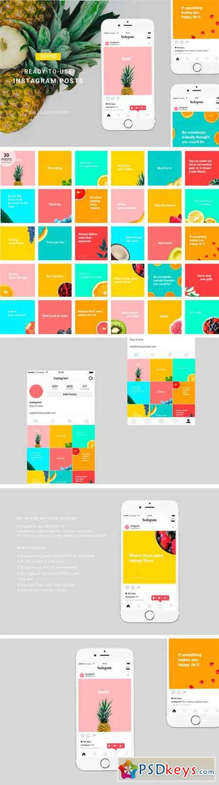 Pop of Color Instagram Pack 2316884