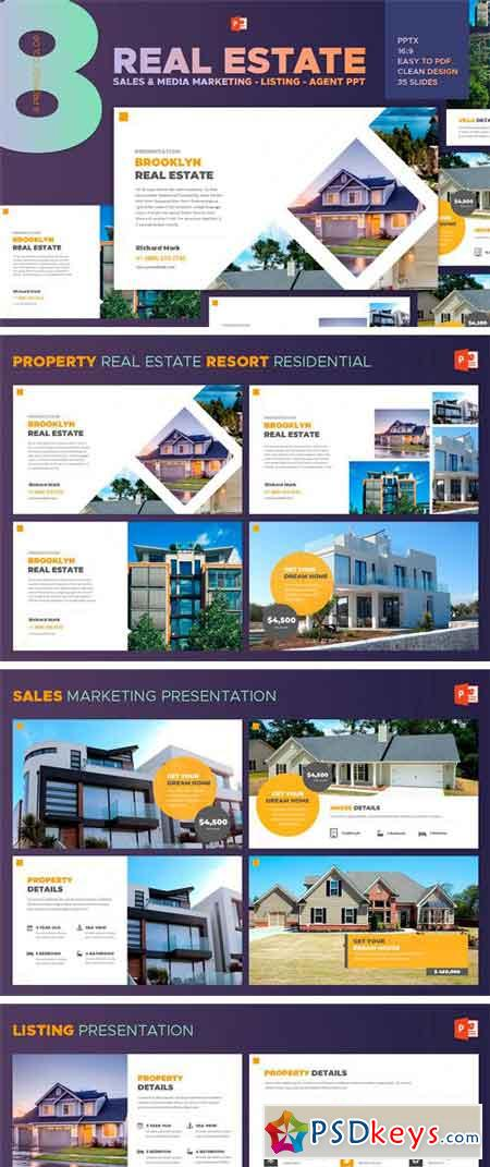Real Estate - Powerpoint Template 2315234
