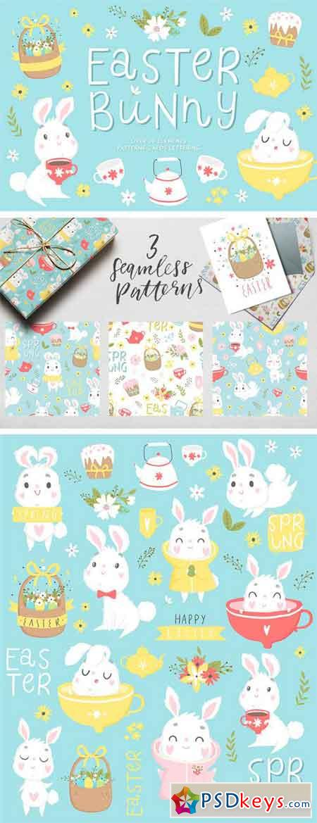 Easter Bunny - Spring Set 2294642