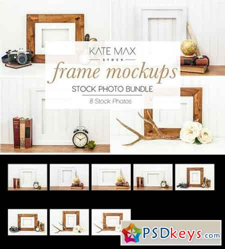 Frame Mockups Stock Photo Bundle 2323549