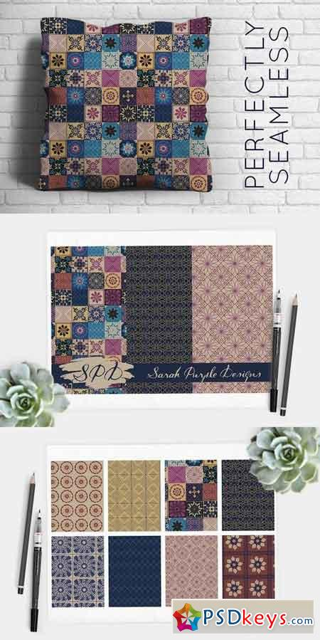 Souk Inspired Mosaic Tile Patterns 855198