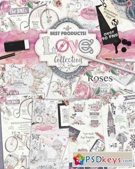 LOVE Collection 4 in 1 859742