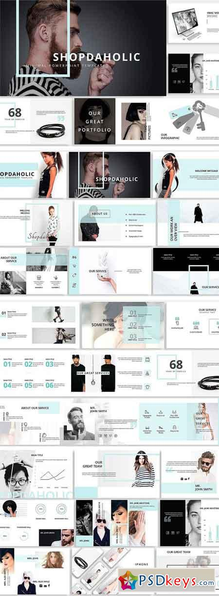 Shopdaholic Creative Template 2316585