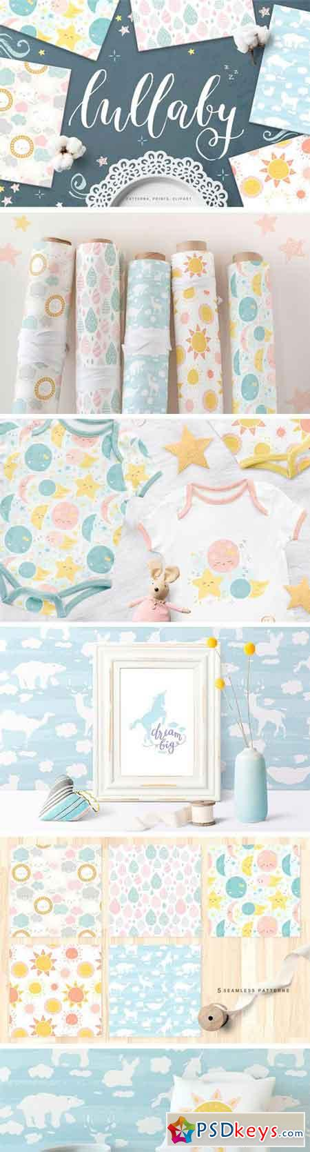 Cute Baby Patterns, Prints, Clipart 2260870