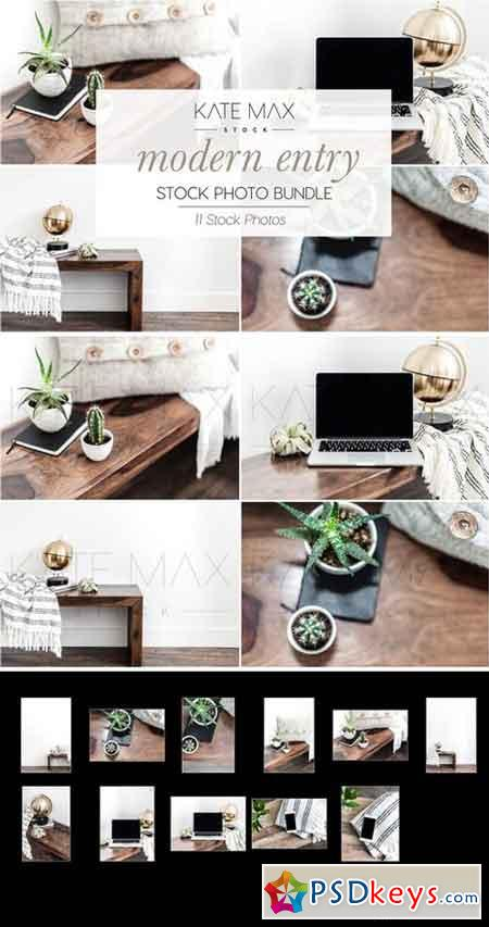 Modern Entry Stock Photo Bundle 2323462