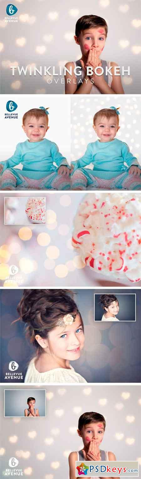 Twinkling Bokeh Overlays (Real) 2295092