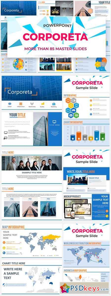 Corporeta - Power Point Template 2318212