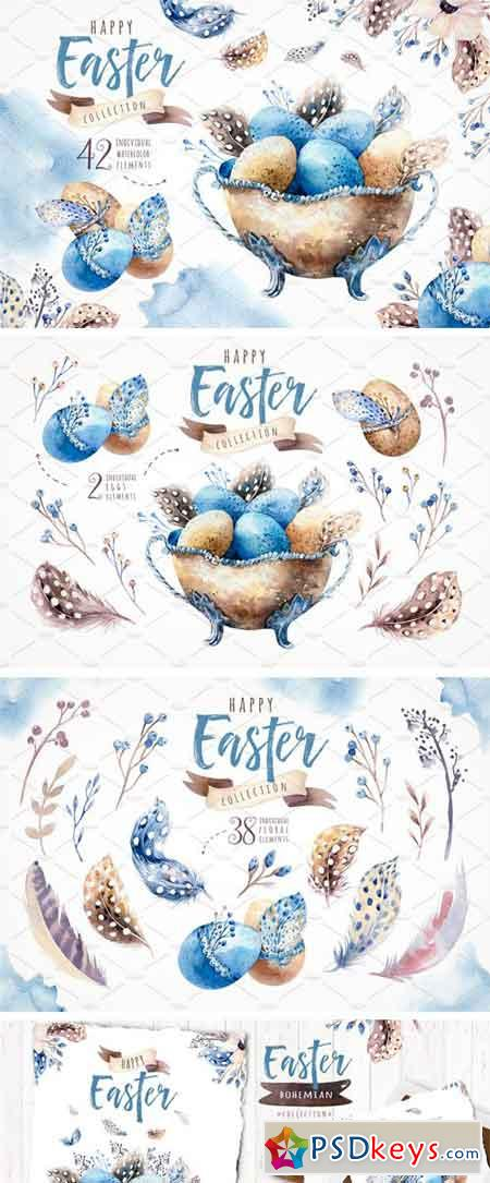 Watercolor Easter Collection 2269008