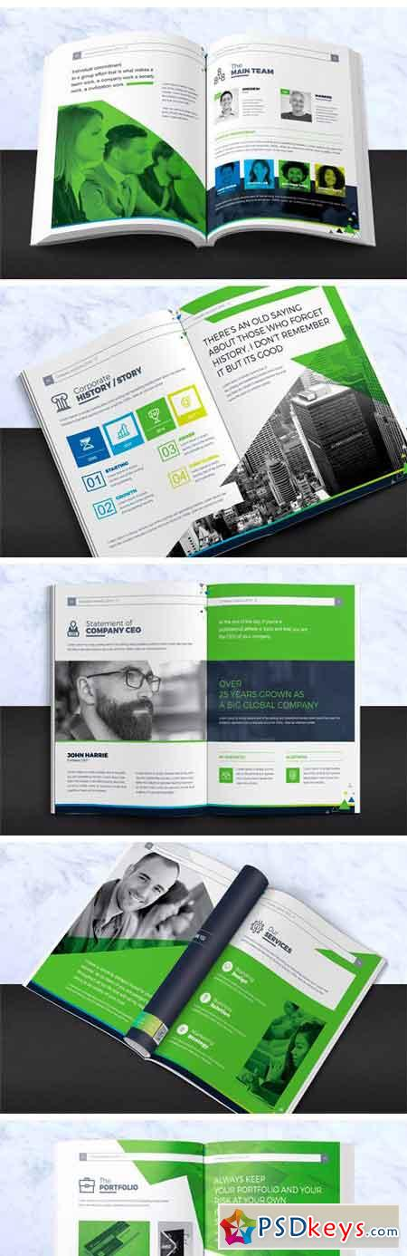 Company Brochure Template 2158987