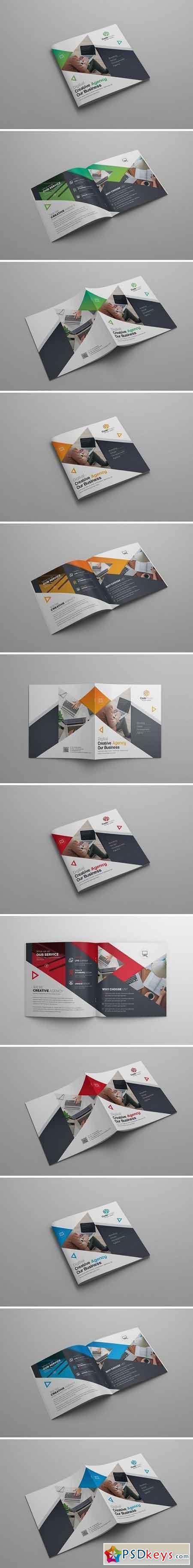 Square Bi-Fold Brochure 2109190