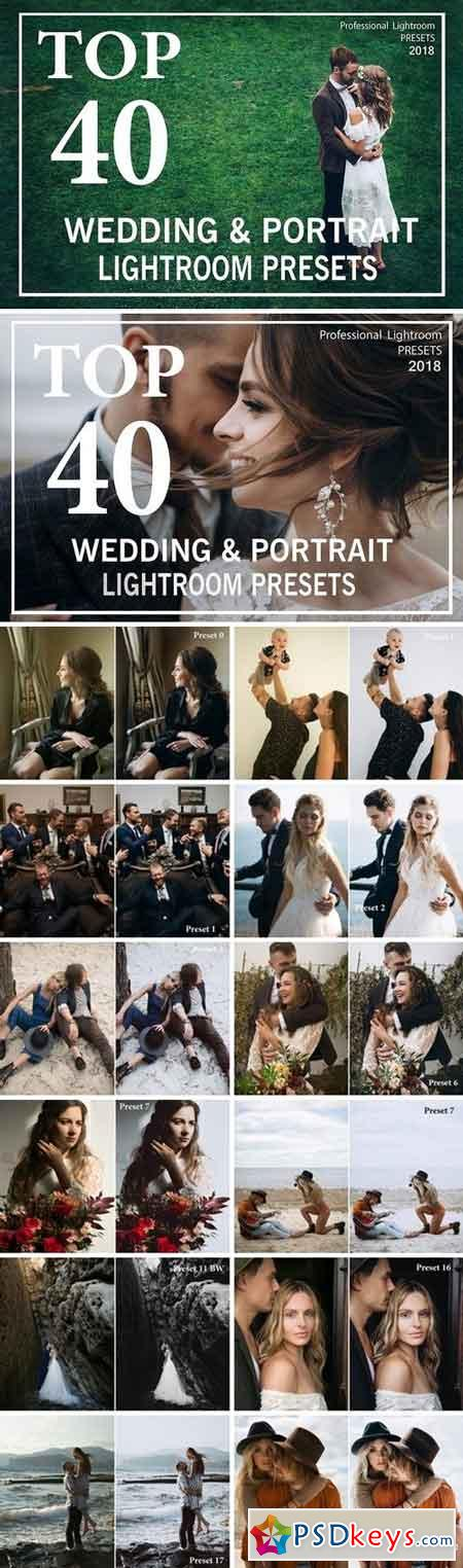 TOP 40 Wedding Lightroom Presets 2032206