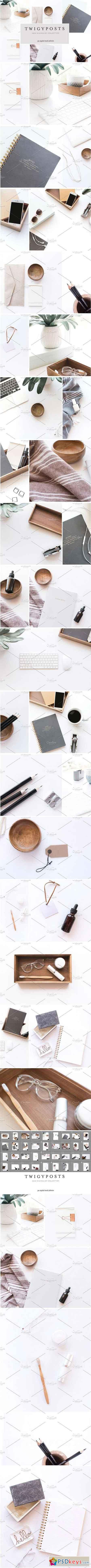 Minimalist Stock Photo Bundle 1599305