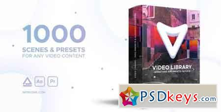Video Library - Video Presets Package V1.1 21390377 - After Effects Projects