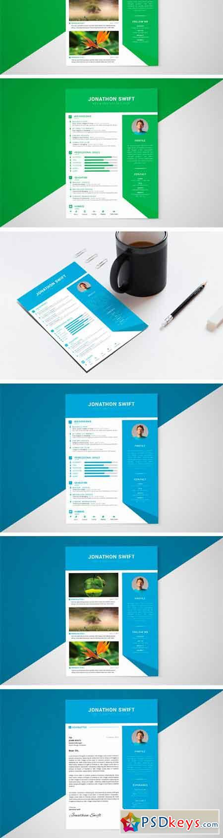CV Resume Template (3 Pages) 2315964