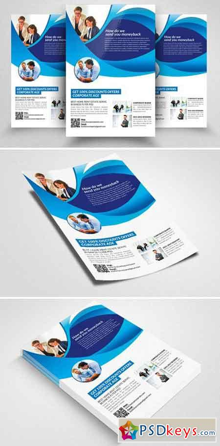 Business Consultant Flyer Template 2339733