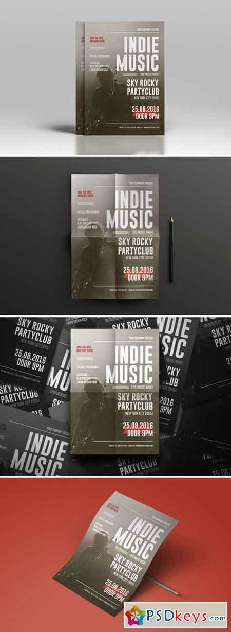 Indie Music Flyer 2339803