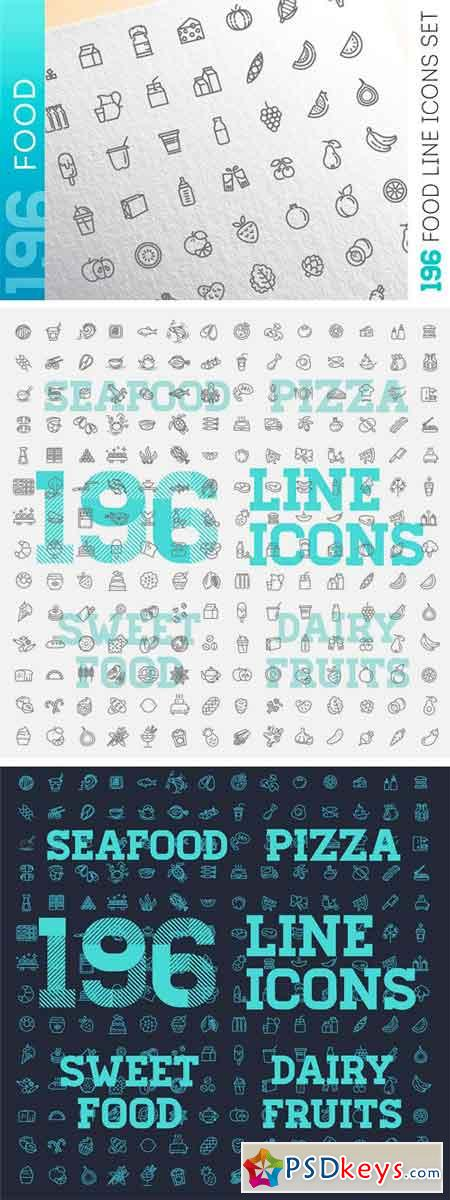 Food & Drinks Icons Set Vol.2 2294908