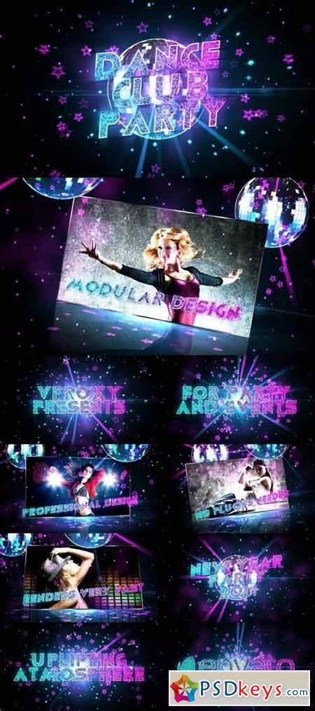 Dance Club Party Promo 6420908 - After Effects Projects
