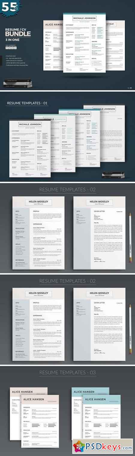 Resume CV Bundle 1537275