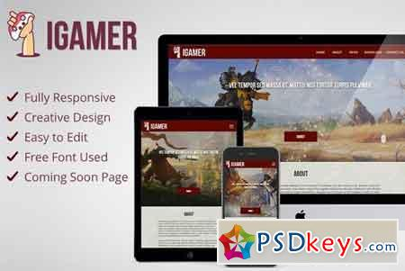 iGamer - Gaming website Muse Theme 1655760