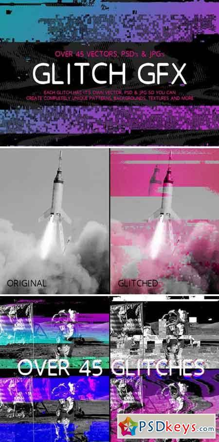 Glitch GFX 1590944 » Free Download Photoshop Vector Stock image Via