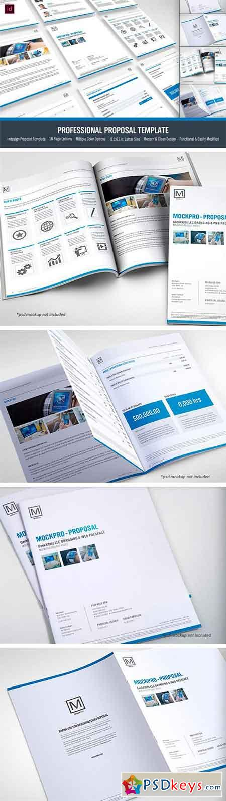Simple Proposal Template Indesign 2294901