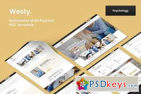 Westy Psychology & Psychiatrist PSD Template