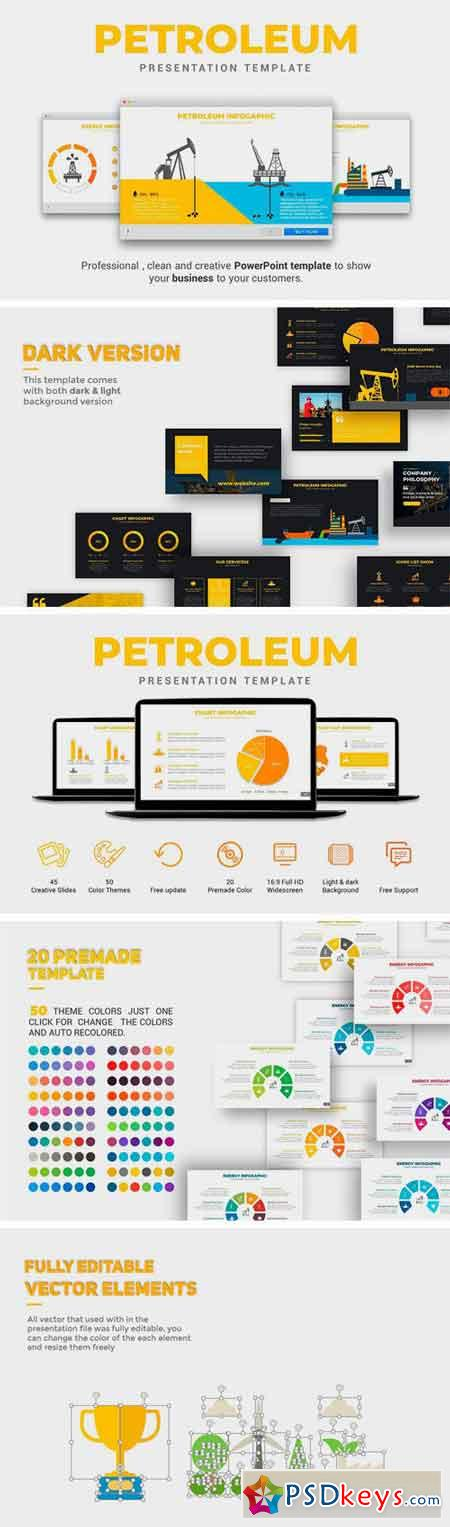 Petroleum PowerPoint Template 2272153