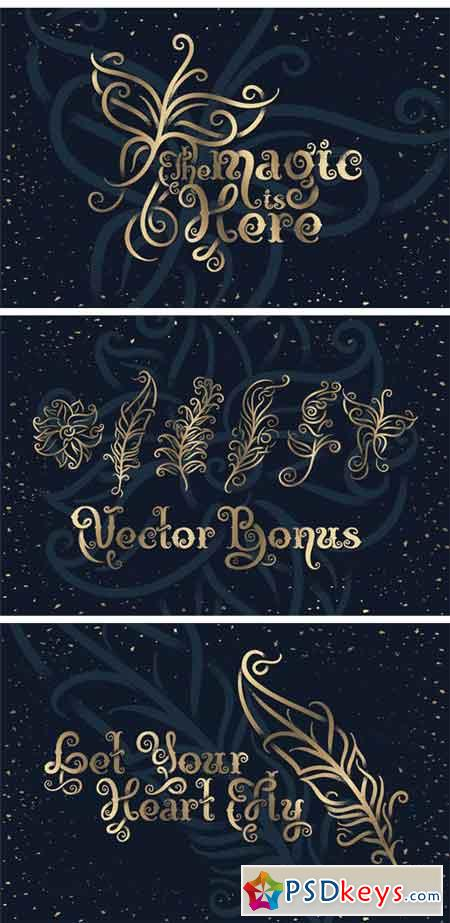 Magic Garden Font & Graphics 2271133
