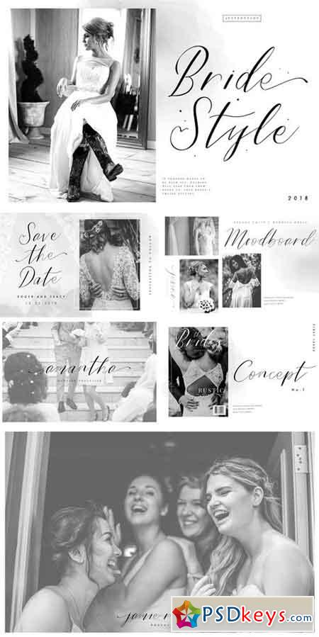 Bride Style - Modern Calligraphy 2178820