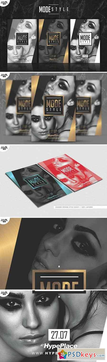 MODE STYLE Flyer Template 2359321