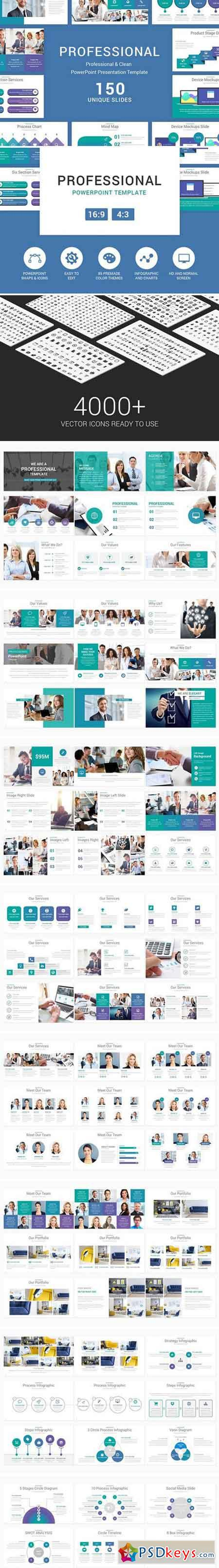 Professional PowerPoint Template 2359803
