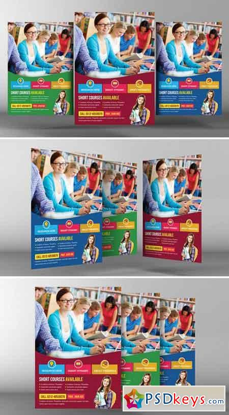University Education Flyer Template 2358148