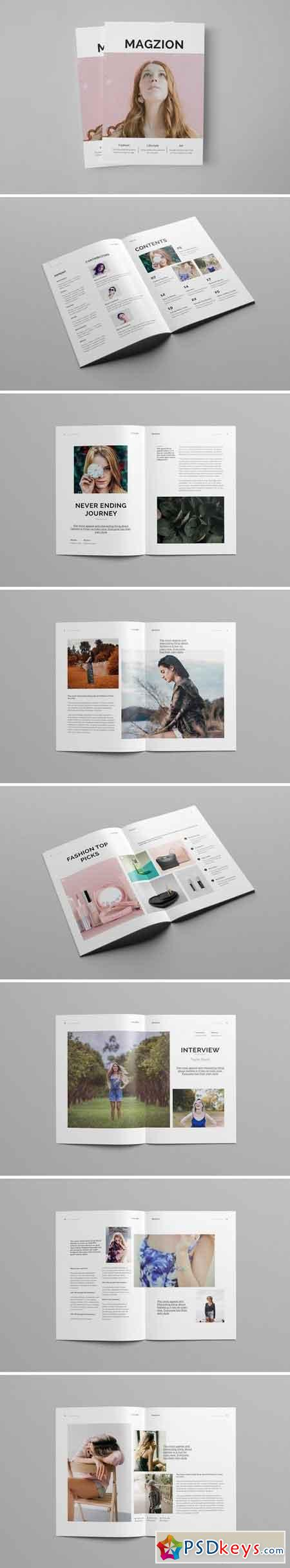 Creative Minimal Fashion Magazine 2384054