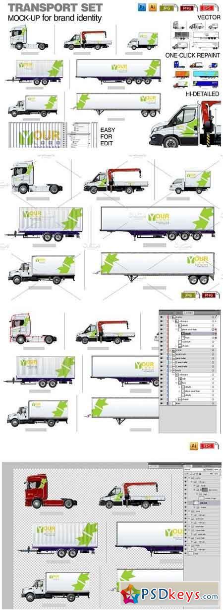 Transport template for branding 1540606