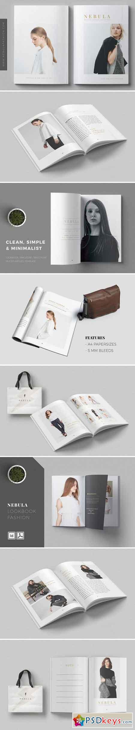 NEBULA Lookbook Magazine Fashion 2357271