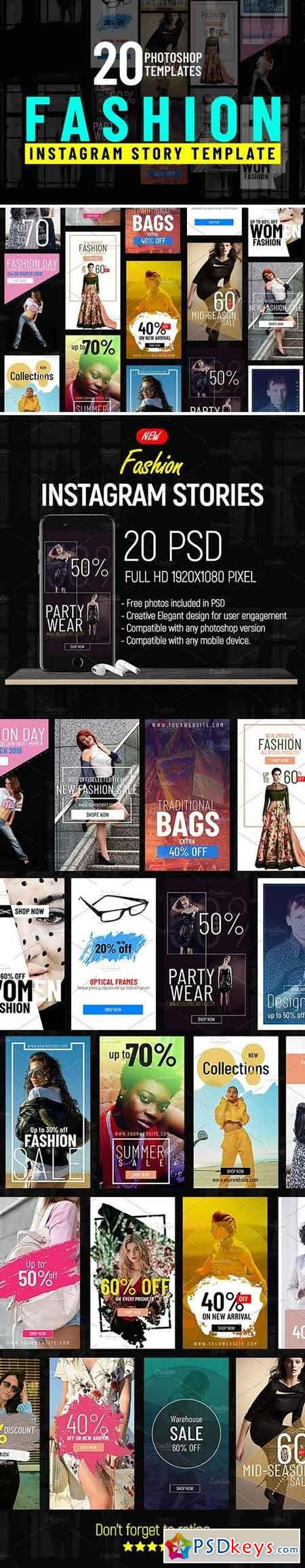 Fashion Shopping Instagram Stories 2385787 » Free Download Photoshop